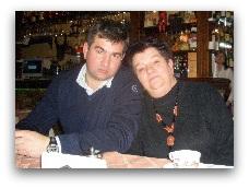Татьяна Павловна с сыном Константином