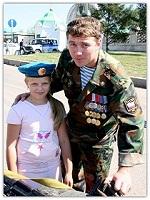 Сын Константин и внучка Вячеслава...