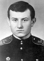 Суворовец Калининского СВУ Валерий Крючков