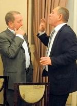 Два друга - Петр Бондарь и Валерий Ларченко