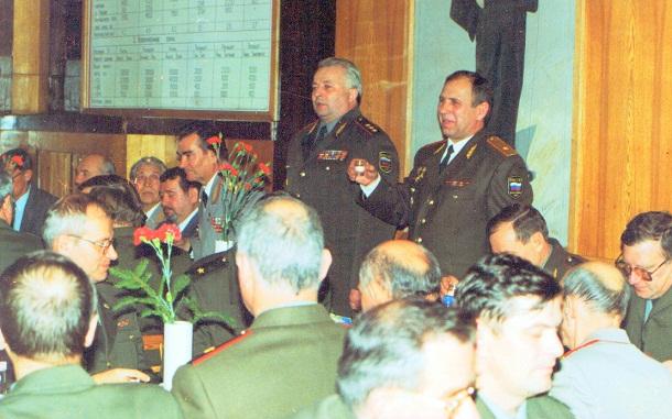 генерал-майор В.Ларченко