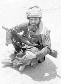 Командир 177 ооСпН майор А.Попович