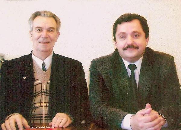В.В.Колесник и Евгений Александров