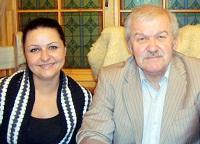 Владимир Миндияров с дочерью