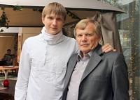 Игорь Ревин с сыном Алексеем