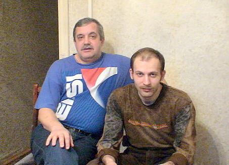 ОлегВладимирович и сын Сергей Печенины