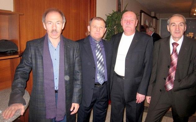 Н.Воронов, Н.Бобков, И.Фокин, А.Кормушин