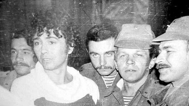 Валерий Леонтьев, Афганистан, Баграм, 1986г.