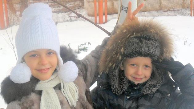 Внуки Александра и Андрей Кругляковы