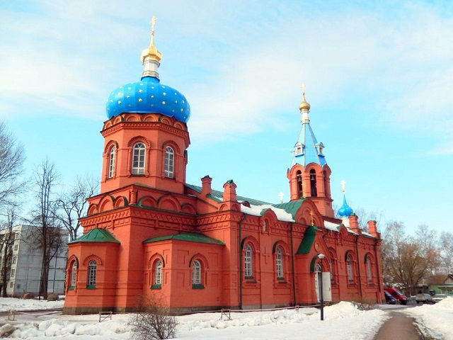 Храм Александра Донского