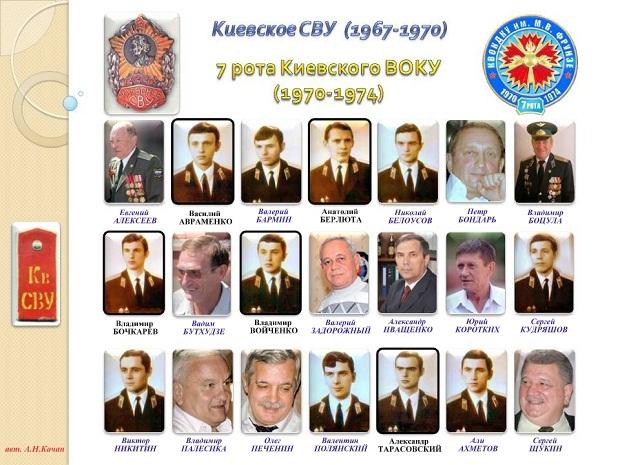 Киевские кадеты 7 роты (1967-1970)