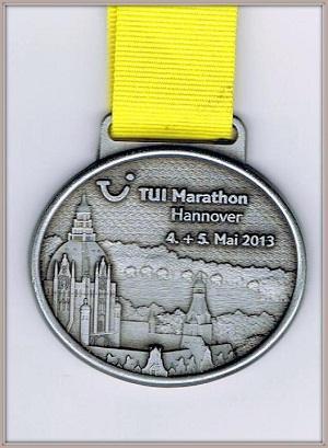 медаль за марафон