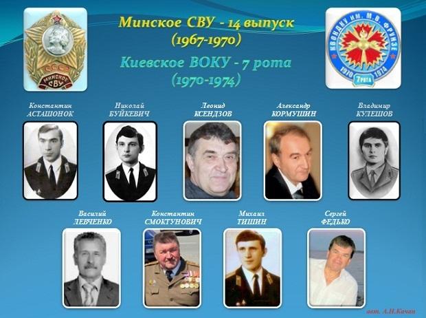 Минские кадеты 7 роты (1967-1970)