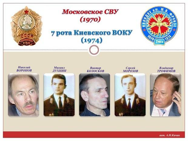 Московские кадеты 7 роты