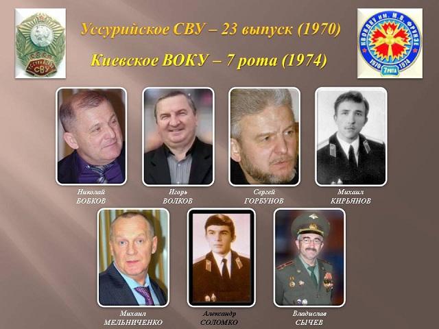 Уссурийские кадеты 7 роты