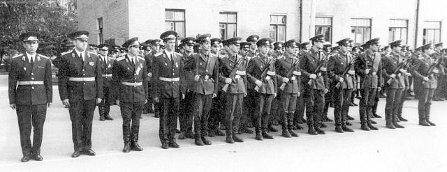 Первые командиры 7 роты...