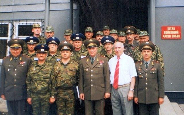 Начальник ГРУ ГШ В.В.Корабельников и Александр Семенов