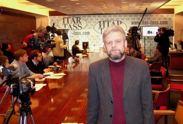 Работа в пресс-центре ИТАР-ТАСС