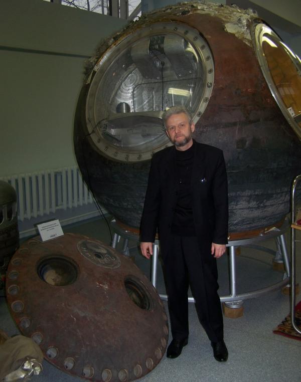 Космический корабль Восток Ю.Гагарина с крышкой выходного люка