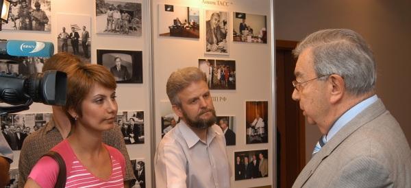 Запись теле-радио интервью с Евгением Примаковым