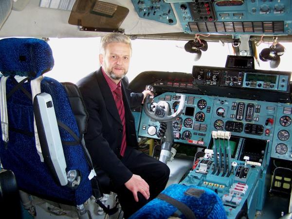 4 В кабине АН-124-100